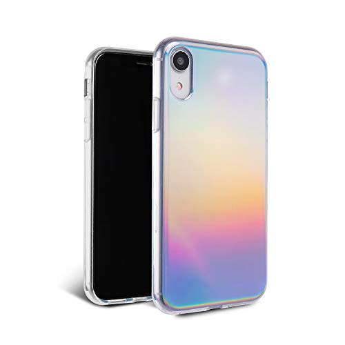 FELONY CASE iPhone XR Case Aura Holographic - 360° Shock-Absorbing Protective Stylish Holographic Case for iPhone XR (Aura Holographic Case)