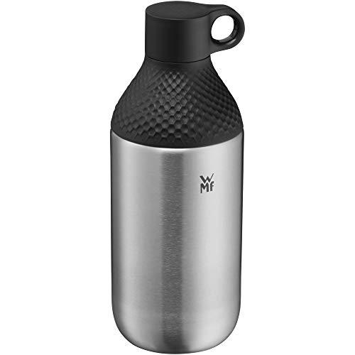 WMF Waterkant Trinkflasche Edelstahl 500ml, Edelstahlflasche Kohlensäure geeignet, Drehverschluss, auslaufsicher, BPA-frei