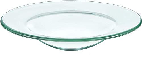 Ersatzglas für Duftlampe mit Vertiefung in der Mitte
