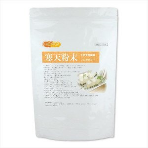 国産 粉末寒天 500g 寒天粉末 ゼリー強度 S-7 天然 食物繊維 [01] 国内製造 粉寒天 NICHIGA(ニチガ)