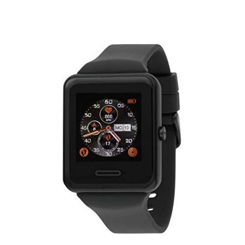 Reloj Unisex Nowley Rfer: 21-2021-0-1 colección Smart Watch, Caja Rectangular Negra 34x40x10mm. Un Reloj Nowley Inteligente, Algo increible Solo en tu muñeca.
