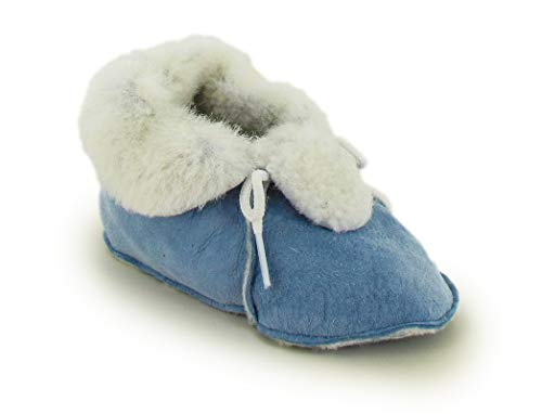 Magicfelt® baby lamsvel Bambino huisschoen, blauw