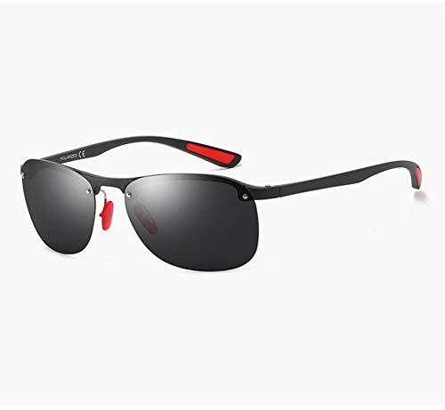 N-B One-Piece Rimless Sunglasses Men's Personality Hip-Hop Frame Sunglasses Trend Riding Glasses