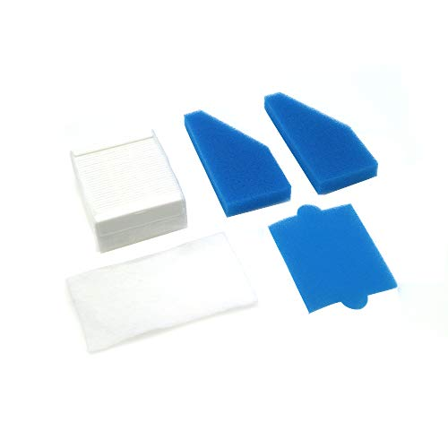 WuYan Lot de filtres HEPA de rechange pour aspirateur Thomas 787241, 787 241, 99
