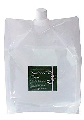 竹洗剤 バンブークリア Bamboo Clear(3L 詰替用)天然成分100% 無添加 洗濯 掃除 食器洗い機
