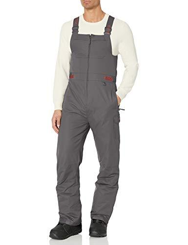 ARCTIX Herren Men's Avalanche Insulated Bib Overalls Ski-Hosen, anthrazit, Medium (32-34W 32L)