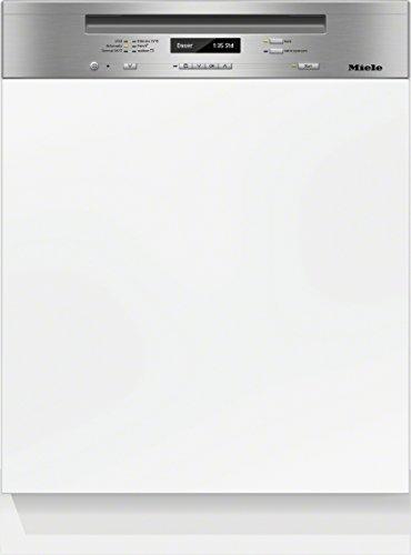 Miele G6415 SCi XXL D ED230 2,1 CLST Geschirrspüler Teilintegriert / 237 kWh/Jahr / 14 MGD / 2716 L/Jahr / edelstahl / Flexibilität für jede Beladungssituation / 3D-Besteckschublade