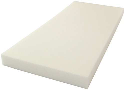 KiNDERWELT 1 x Schaumstoff Polster Schaumstoffpolster Schaumstoffplatte Schaum Matratze 90 x 40 x 6 cm