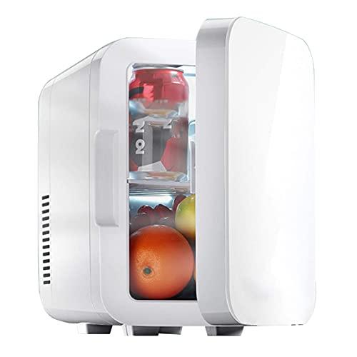 Refrigerador para Automóvil, Refrigerador Portátil para Automóvil, Refrigeración Y Calefacción De Doble Propósito, 12 / 220V, Funcionamiento Silencioso, (6L) Mantiene La Comida Y Las Bebidas Frías M