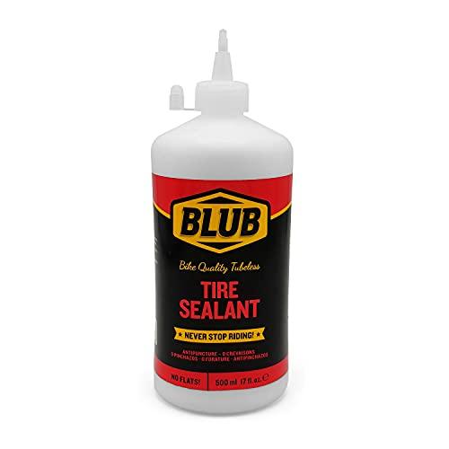 BLUB Sellante Tubeless MTB 500mL, Sellante Antipinchazos Bicicletas, Sellante de Reparación de Pinchazo de Neumático, Prevenir y Reparar Ruedas para Bici