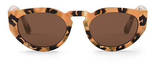 Mr Boho PSIRI Montures de lunettes, Marron (Animalia/Classic Lenses), 48 Mixte Adulte