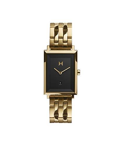 MVMT Damen Analog Quarz Uhr mit Edelstahl Armband D-MF03-GGR