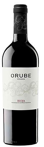 Orube Crianza, Wein, Trocken, 13% Alkohol (1 x 0,75l Flasche) - Spanischer Wein aus Tempranillo, Garnacha und Graciano Trauben