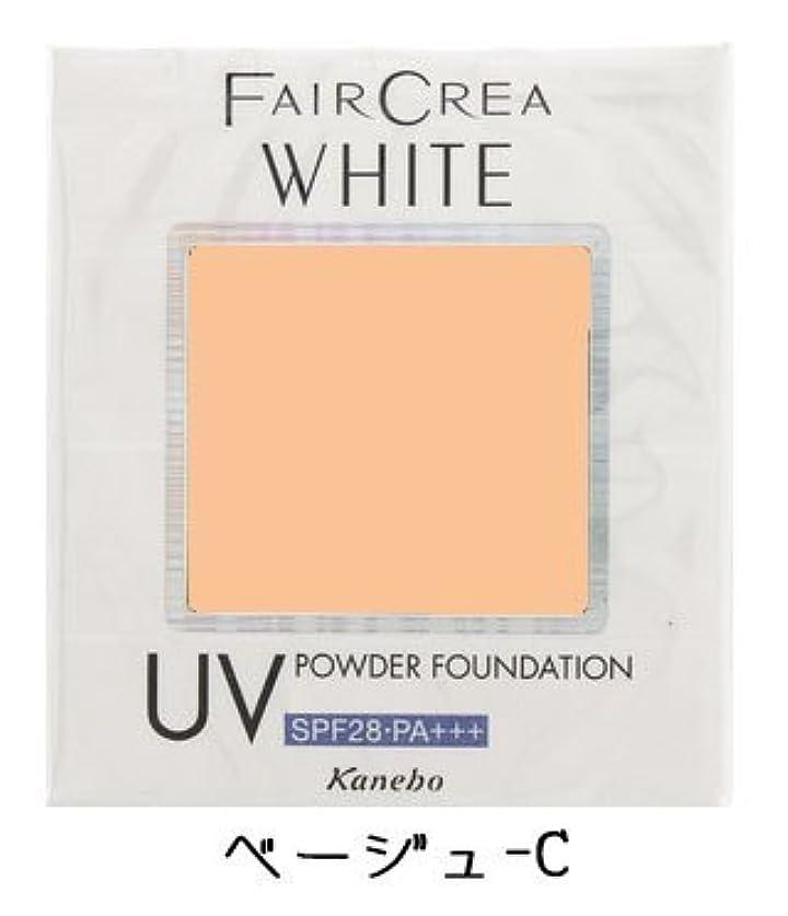 胸ミッショントランジスタカネボウ フェアクレア ホワイトUVパウダーファンデーション《10g》<カラー:ベージュC>