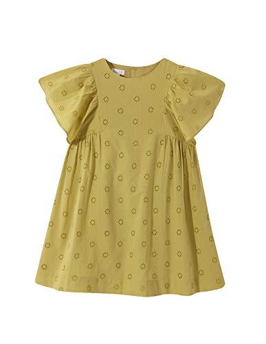 Gocco Troquelado Vestido, Amarillo (Amarillo S03vvtca208yb), 9 años (Tamaño del Fabricante: T:...