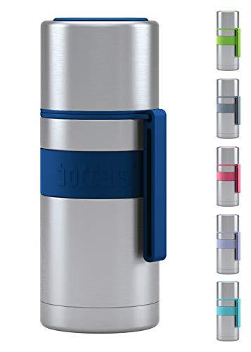 boddels Isolierflasche HEET 350 ml - Deine Thermoskanne für unterwegs (Nachtblau)