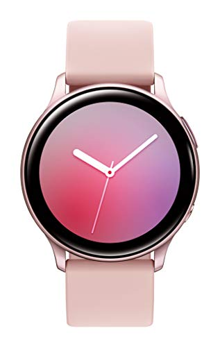 Samsung Galaxy Watch Active2 w/ enhanced sleep tracking analysis, auto workout tracking, and pace coaching (44mm), Pink Gold - US Version with Warranty