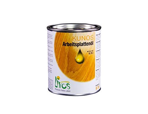 LIVOS 243-0,75 KUNOS Arbeitsplattenöl, Natur