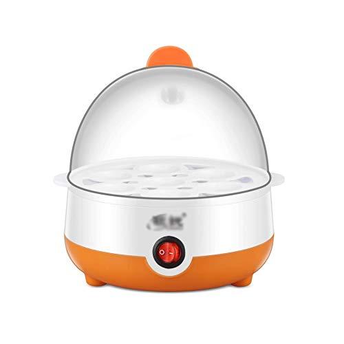 XJJZS Calentador rápido Huevera eléctrica de una Capa 7 Huevos Capacidad Caldera...