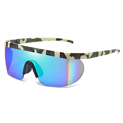 NZAUA Gafas de Ciclismo Gafas de Sol polarizadas MTB Hombres Mujeres Montaña Bicicleta Playa Pesca B