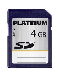 Platinum 4 GB SD Speicherkarte 177106 kein SDHC