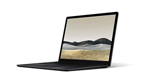 Microsoft Surface Laptop 3, 13,5 Zoll Laptop (Intel Core i5, 8GB RAM, 256GB SSD, Win 10 Home) Matt Schwarz