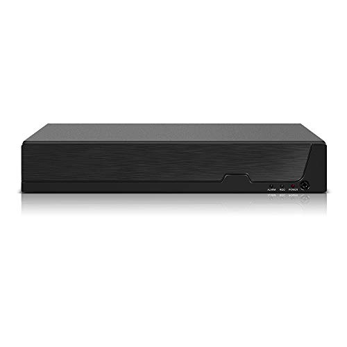 Entweg DVR, 4CH 1080P Voll-HDD-Hybrid-CCTV-Digitalvideorecorder DVR P2P-Fernüberwachungsbüro-Überwachungssystem Kit-Kamera (Keine Festplatte)