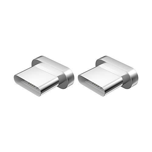 NetDot Aggiungi sul connettore USB-C per Cavo Magnetico Gen5 / Gen7 compatibili con Dispositivo Type-c (2 Punte/nessun Cavo)