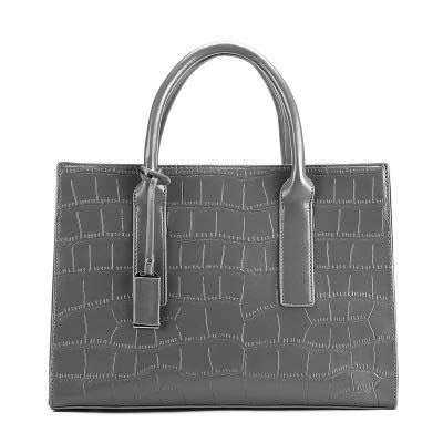 Obi Maniglie Porte Interne.Leather Handbag 2019 New Wild Messenger Bag Female Soft Leather Large Capacity Crocodile Pattern Leather Shoulder Diagonal Bag