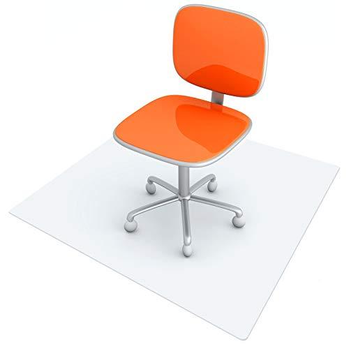 BigTron Verdicken Bodenschutzmatte für Hartholzboden, Transparent Bürostuhl unterlage PVC Stuhlmatten 2.0, BPA frei, 90 x 120 cm