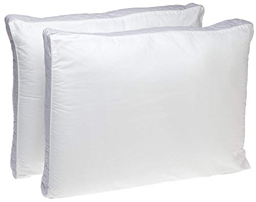 Perfect Fit | Gusseted Quilted Pillow Hypoallergenic, 233 Thread-Count, Standard, 2 (Side Sleeper, King)