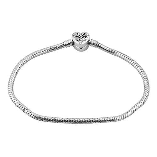 CharmSStory Kids European Charm Bracelet for Charm Bead Snake Chain Bracelets