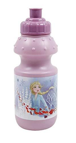 FUN HOUSE 005720 Disney Reine des NEIGES Gourde pour Enfant Fille, Rose, 18 CM