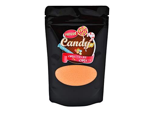 Hopser Food Fun Aromazucker | Geschmack Honigmelone | Farbzucker für Zuckerwatte, Zuckerwattemaschinen, Popcorn, Dekorieren, 1 x 200g