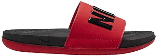 Nike Offcourt Slide, Sneaker Hombre, Negro University Red, 41 EU