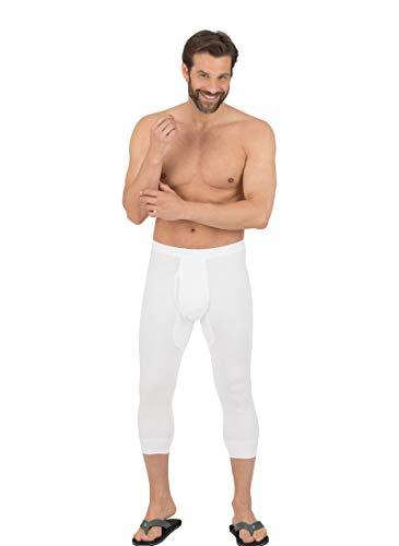 Trigema 6852402 Bas Thermique, Blanc (001), L (Lot de 2) Homme