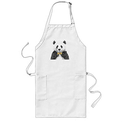 Rioengnakg de cuisine Série Gental Panda Tablier Tablier pour Adulte