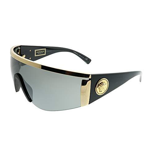 Versace Sunglasses Gold/Silver Metal - Non-Polarized - 40mm