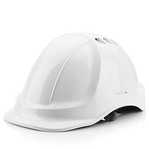Veiligheid Helm Site Bouw Toonaangevende Elektricien Bouw Engineering Elektrische Arbeidsverzekering Helm Witte Ventilatie Helm