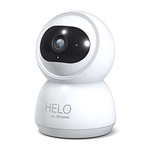 HELO by STRONG Überwachungskamera Indoor, (Full HD, Babyphone, Weitwinkel, Bewegungserkennung, Nachtsicht, App Steuerung), weiß, Camera-W-IN
