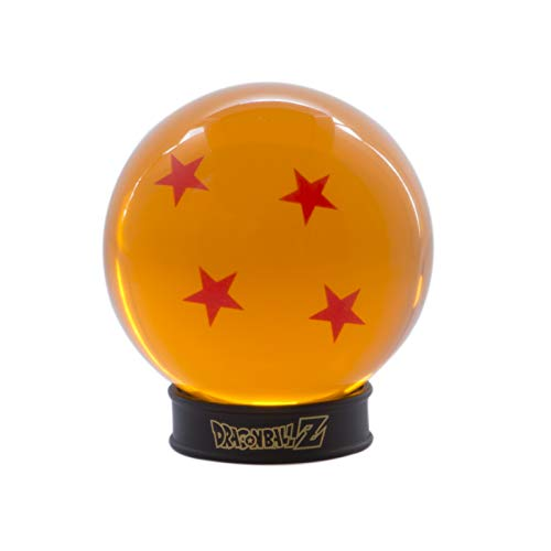 ABYstyle - Dragon Ball - Bola de Cristal 4 Estrellas - 75 mm + Pedestal