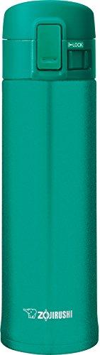 Zojirushi - Taza de acero inoxidable, 473 ml, color esmeralda
