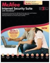 McAfee Internet Security Suite 2008 (3 User) mit SiteAdvisor