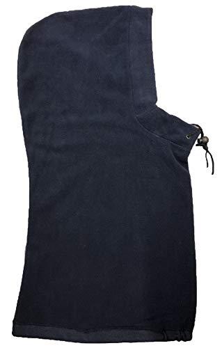 Viz-uk Cagoule en polaire avec bascule Noir/bleu marine ou gris - - bleu marine, Taille unique