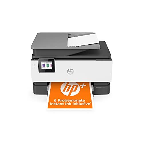 HP OfficeJet Pro 9012e Multifunktionsdrucker (HP+, A4, Drucker, Scanner, Kopierer, Fax, WLAN, LAN, Duplex, HP ePrint, Airprint, mit 6 Probemonaten HP Instant Ink Inklusive) Basalt