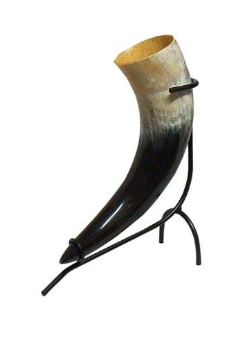 Mochila de hidratación de cuerno de soporte, colour negro, para un 0 - 0 2l, 4L Battle - soporte para beber cuerno para cuerno de hidromiel
