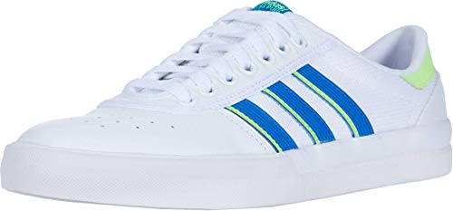 adidas Skateboarding Lucas Premiere Footwear White/Glory Blue/Signal Green Men's 9, Women's 10 Medium
