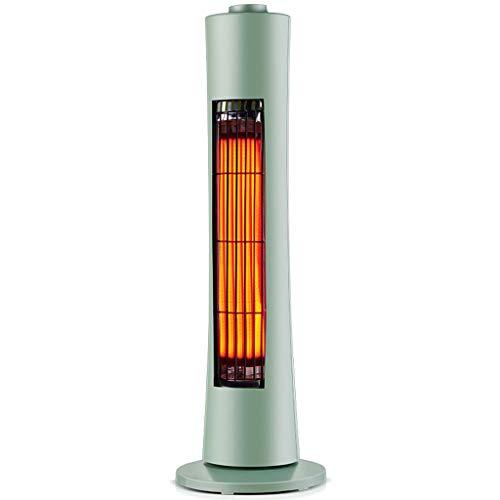 MFWFR Weit Infrarot Heizung, Solar- Haushalt Energie sparen elektrisch Heizung, Zittern Kopf Heizung, Grün