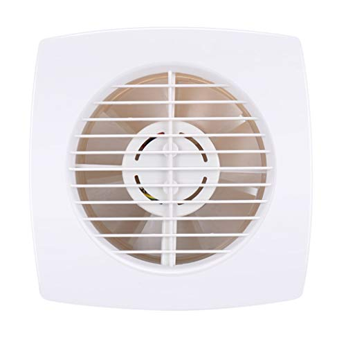 Ventilador de ventilación doméstico Extintor, De Pared Ventilador, Ventana Tipo 4 Pulgadas Silenciosa Y Potente De La Cocina/Baño/Sala De Estar/Oficina/Áreas Pequeñas LITING
