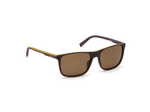 TIMBERLAND EYEWEAR Herren Tb9195 Sonnenbrille, Braun, 58